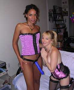 Here's me Cindysinx playing with my good friend  Melodie and about to get fucked during one of my live web shows.