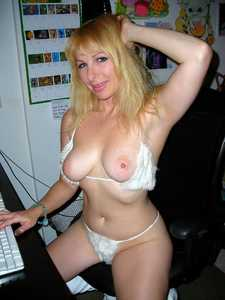 I'm also a former Playmate and appear on Playboy TV and one of my movies was just featured on Naughty Amateur Home Video's.